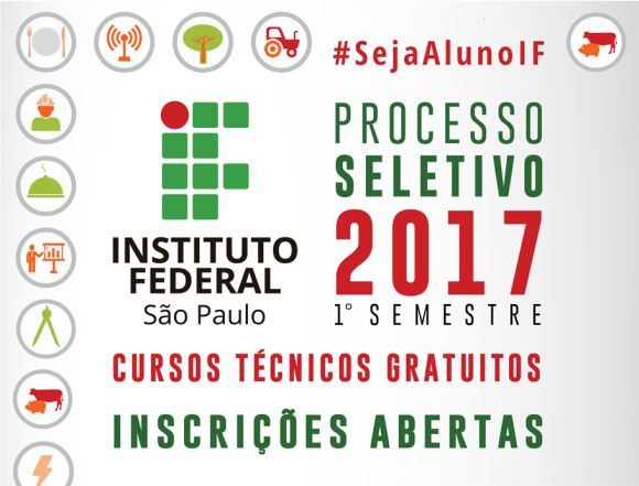 Instituto Federal de SP cursos técnicos gratuitos 2017