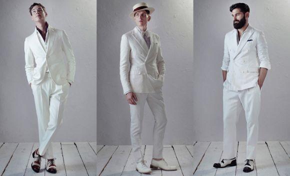 Roupas brancas masculinas para réveillon 2017 (Foto Ilustrativa)