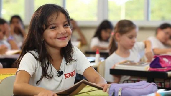 A educação infantil é um dos destaques nas escolas do Sesi (Foto: Reprodução Sesi SP)