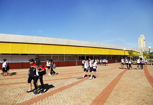 As escolas do Sesi São Paulo estão presentes em mais de 100 cidades (Foto: Reprodução Sesi SP)