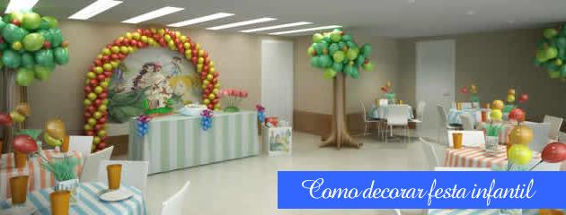 Como decorar festas infantis