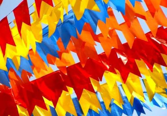 decoracao alternativa para festa junina:Festa de São João Decoração 6