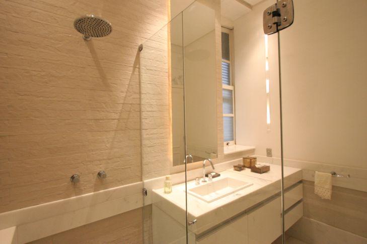 Banheiros Decorados com Porcelanato  MundodasTribos – Todas as tribos em um  -> Banheiros Decorados Ceramica Portinari