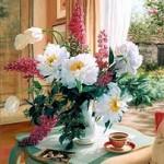 239955 Flores na sala do chá das cinco 150x150 Flores para Decorar Sala
