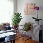 239955 decoracion apartamento salon 150x150 Flores para Decorar Sala