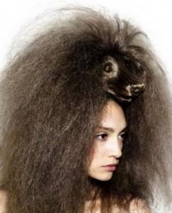 Cuidado para cabelos secos