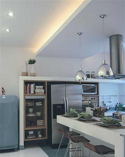 Decoraç u00e3o de Gesso para Cozinha -> Decoração De Forro De Gesso Para Cozinha