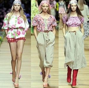 260547 tendencia floral 2011 Tendências da Moda, Primavera verão 2012