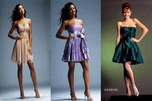 262660 vestidos curtos para festas Vestidos para madrinhas de casamento: moda 2013