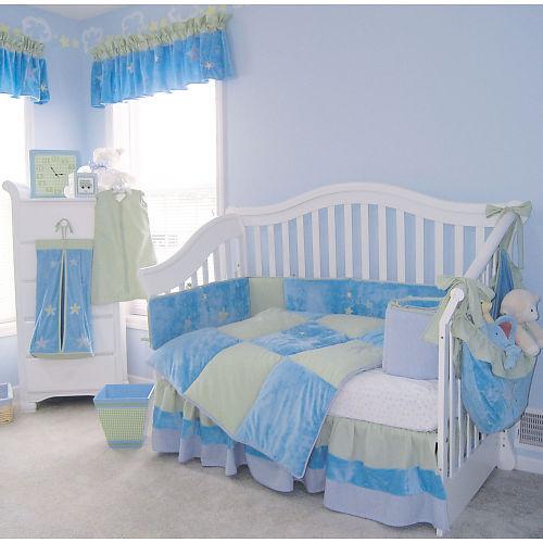 262751 quarto azul Decoração para quartos de bebê: veja fotos