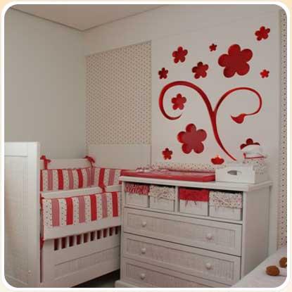 262751 quarto vermelho Decoração para quartos de bebê: veja fotos