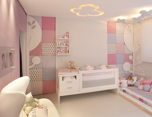 262751 quarto bebe rosa Decoração para quartos de bebê: veja fotos