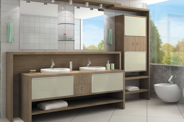 Modulados Para Banheiro : Banheiros decorados fotos mundodastribos todas as