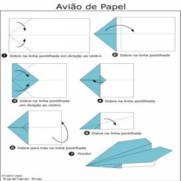 origami aprenda a fazer dobradura de papel