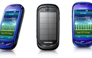 Conheça os Celulares Alimentados a Energia Solar