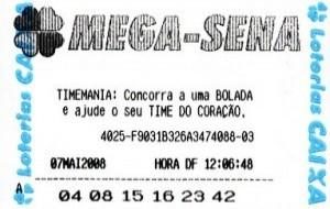 Mega-Sena permitirá apostas pela internet