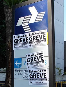 289067 greve Julgamento pelo fim da greve dos Correios deve acontecer hoje (11)