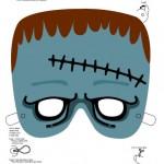 294799 mascara12 150x150 Máscaras de Halloween para colorir