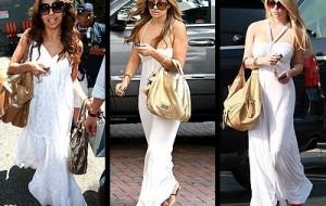 Tendências de vestidos longos para o verão 2012