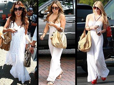 298120 vestido Tendências de vestidos longos para o verão 2012