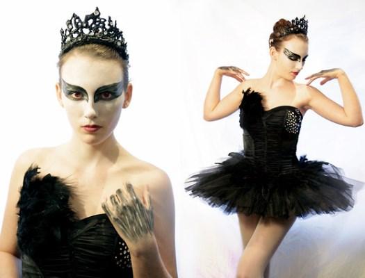 Resultado de imagem para fantasias halloween cisne negro