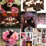 305716 a combinação das flores com marrom é harmoniosa 150x150 Decoração de casamento rosa e marrom
