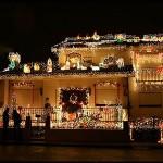 307349 decoração externa de natal com pisca pisca6 150x150 Decoração externa de Natal com pisca pisca