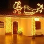 307349 decoração externa de natal com pisca pisca7 150x150 Decoração externa de Natal com pisca pisca