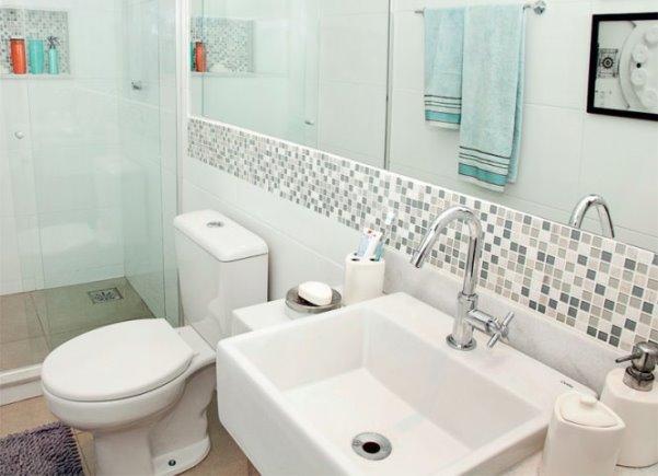 Banheiros Pequenos Decorados  MundodasTribos – Todas as tribos em um único l -> Banheiros Quadrados Decorados