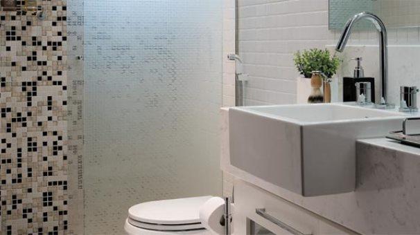 Banheiros Pequenos Decorados  MundodasTribos – Todas as tribos em um único l -> Decoracao De Banheiro Pequeno Cinza