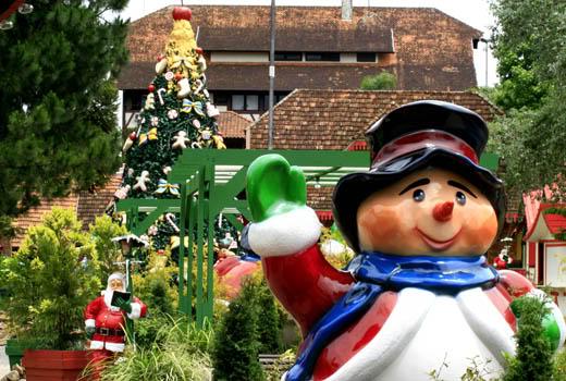 São dezenas de atrativos para você aproveitar o símbolo do Natal;