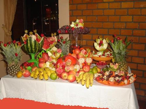Conheça as frutas que combinam com o Réveillon -> Decoraçao Com Frutas Para Ano Novo