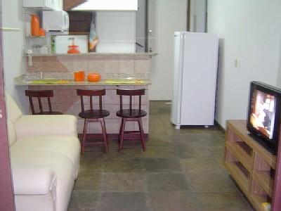 Cozinhas americanas com sala de estar