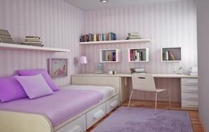 Ideias de decoração para quartos pequenos