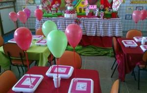 Decoração de festa infantil na escola