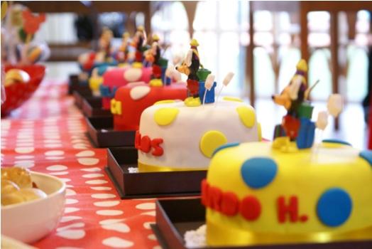 decoracao alternativa de festa infantil:Decoração de festa infantil na escola. (Foto: Divulgação)