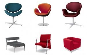 Poltronas e cadeiras clássicas da decoração