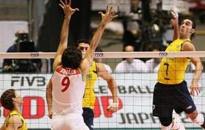 Com facilidade, Brasil supera o Irã e volta à zona de classificação para as Olimpíadas