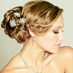 344615 noiva com cabelo preso 150x150 Penteados para noivas   fotos