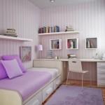 345635 decoracao quarto menina roxo lilas branco 2 150x150 Decoração para quartos de adolescente   fotos