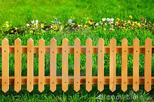 Cercas para jardim for Casas de plastico para jardin