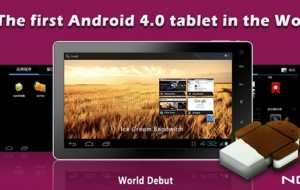 O primeiro tablet com Android 4.0 custa apenas US$ 99