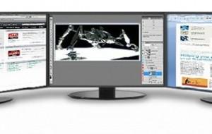Utilize vários monitores no mesmo computador