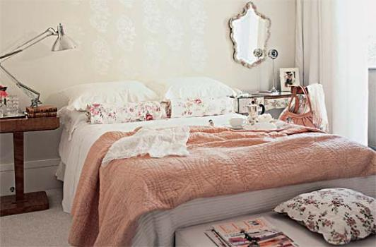 Quarto de casal romântico como decorar MundodasTribos  ~ Quarto Romantico Simples