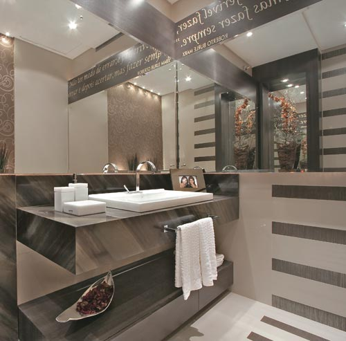 Decoração de banheiros – fotos -> Decoracao De Banheiros Com Banheiras Fotos