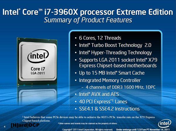 Intel i7-3960X