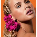 357237 tranças e flores uma combinação perfeita 150x150 Penteados com tranças: fotos, modelos