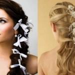 357237 tranças para festas 150x150 Penteados com tranças: fotos, modelos