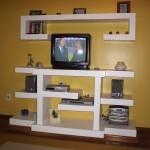 358288 decorar com estantes de gesso 3 150x150 Decoração com estantes de gesso