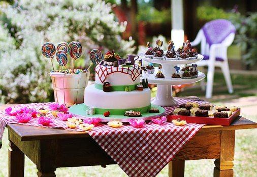 Decoração de jardim para festas  fotos, ideias 5